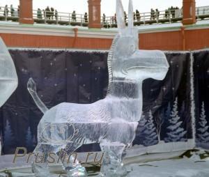 Ледяной ослик шрека