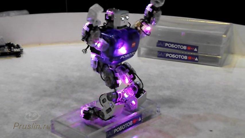Бал роботов нарезка записей в одной