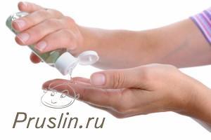 Вред дезинфицирующего геля для рук
