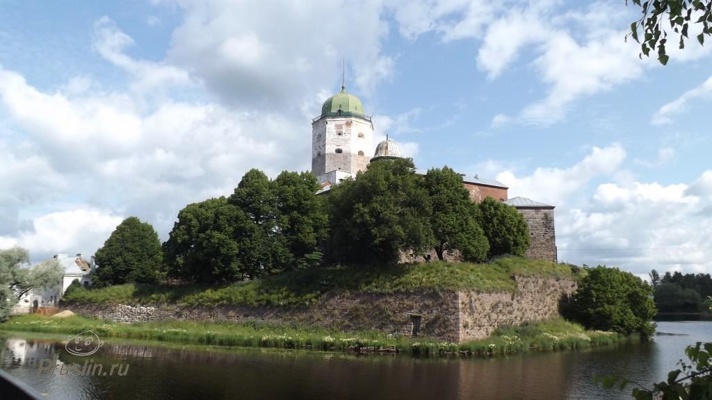 Выборгский Замок. Город Выборг