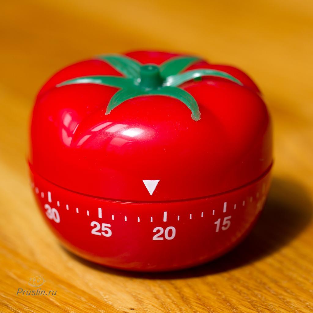 Экономьте время с помощью техники Pomodoro(Tomate)