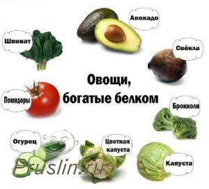 Где вегетарианцы берут белок