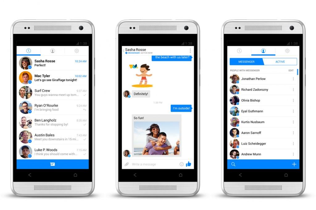FB Messenger - еще одно доказательство гениальности владельца Facebook Марка Цукерберга.