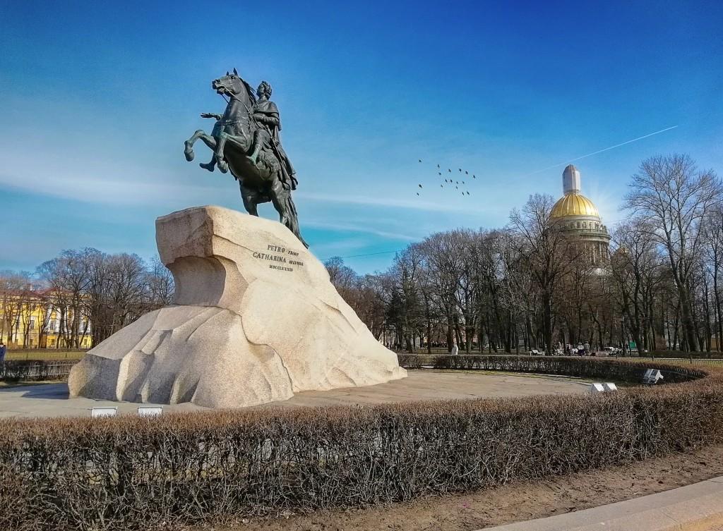 памятник Петру - медный всадник