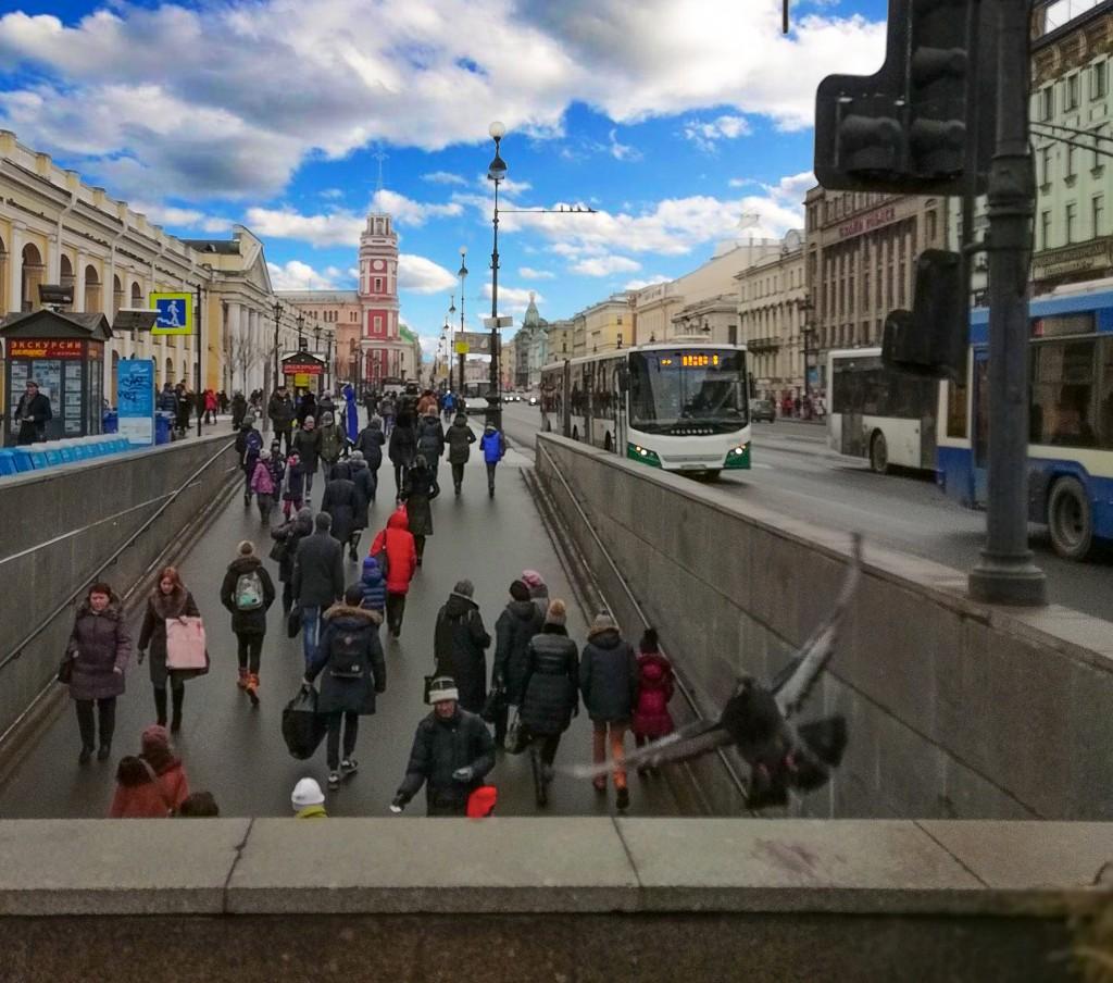 Невского проспекта