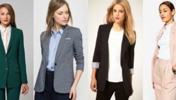 5 фасонов пиджаков, которые выигрышно подчеркнут фигуру