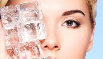 Лед как косметическое средство