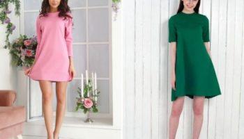 Какие силуэты платья не выходят из моды уже несколько лет