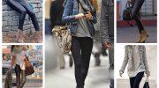 Черные леггинсы снова в моде: 5 удачных вариантов с чем их носить
