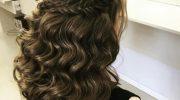 5 причесок с полусобранными волосами на среднюю длину