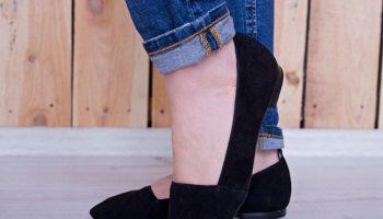 5 вариантов женственного образа без высокого каблука