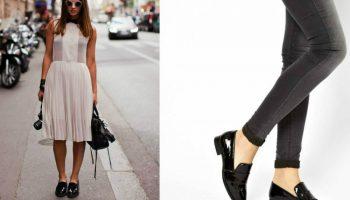 С чем можно носить лаковую обувь на каблуке