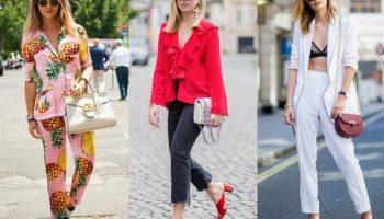 5 универсальных вариантов сочетания укороченных брюк с обувью