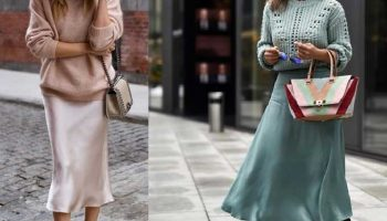 Юбка-слип: как носить и выглядеть стильно