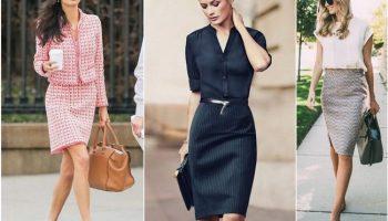 7 стильных образов для мамы на первое сентября