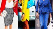 Как правильно сочетать цвета и рисунки в одежде