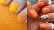 11 идей осеннего маникюра для коротких ногтей