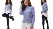 5 способов красиво носить свитер в сезоне осень-зима