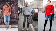 10 стильных образов со свитером. С чем сочетать и как носить
