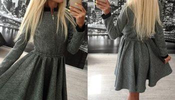 5 стильных теплых платьев на предстоящую зиму