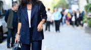 С чем носить широкие брюки палаццо этой зимой. 5 стильных примеров