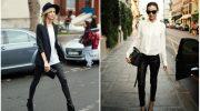 5 способов носить кожаные брюки женщине после 40 и не выглядеть вульгарно