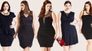 11 нарядов на новогоднюю ночь и корпоративы для полных женщин, чтобы быть самой стильной