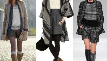С чем и какие шорты нужно носить этой зимой