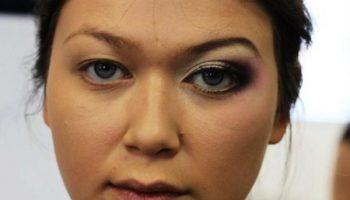 5 идей новогоднего макияжа для нависшего века