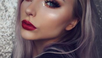Как сделать новогодний макияж самостоятельно. Пошаговая инструкция