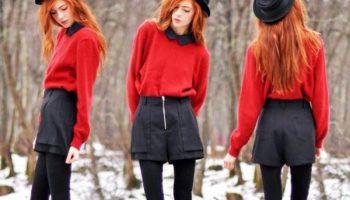 5 примеров, как носить шорты этой зимой и не казаться вульгарной