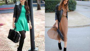 Играем на контрасте: как выбрать куртку под весенние платья