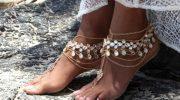 5 вариантов украшений для ног на лето
