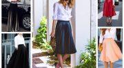 11 примеров с чем носить белую рубашку женщине после 50 лет