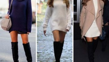 С чем носить сапоги-чулки, чтобы выглядеть стильно