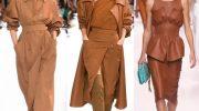 Как правильно носить модный в этом сезоне цвет тоффи