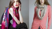 Как красиво дополнить осенний образ шарфом, чтобы не казаться старомодной