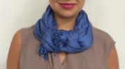 7 способов носить шарф стильно и ультрасовременно