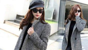 Как создать нескучный образ с серым пальто. 11 стильных примеров
