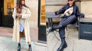 5 стильных образов с грубыми ботинками, как избежать ошибок