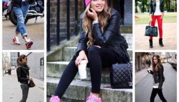 Чем разбавить верхнюю одежду черного цвета, чтобы выглядеть стильно и эффектно