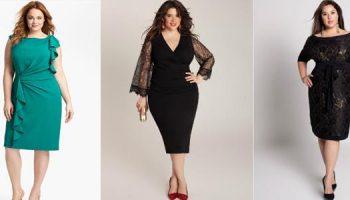 Новогодние наряды для женщин размера плюс. 11 стильных примеров