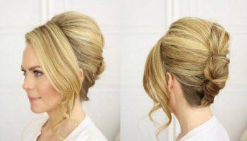 Самые роскошные укладки для волос средней длины, которые можно сделать самой