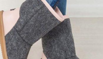 Валенки в гардеробе современной модницы: когда их лучше обувать и с чем сочетать