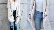 Как и с чем носить стильный кардиган и не выглядеть тетушкой. 5 основных ошибок