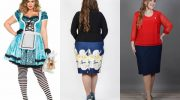 Новогодние платья и юбки для женщин с полными бедрами. 7 примеров