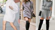 Вязаное платье — обязательная составляющая стильного образа этой зимой. 11 примеров