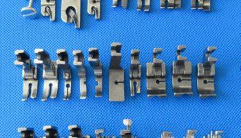 Лапки для швейных машин: виды и особенности применения.