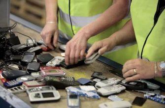 Особенности утилизации старых телефонов